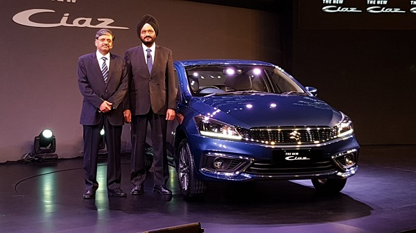 Maruti Suzuki Ciaz Facelift Launch