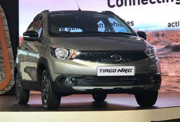 Tata Tiago NRG Front Low View