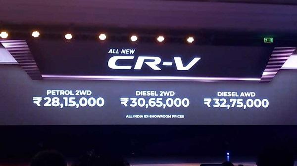 Honda CR-V Prices