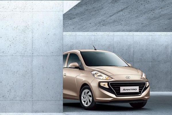 Front View Of Generation Next Hyundai Santro