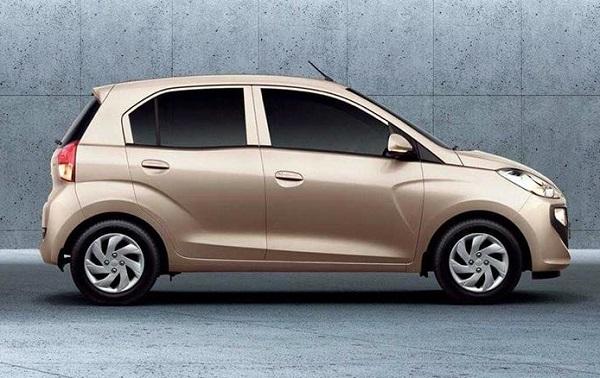 Side Profile Of Generation Next Hyundai Santro