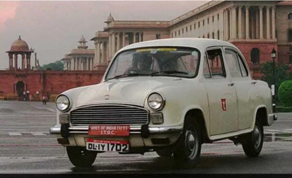 Hindustan Ambassador Front Low View