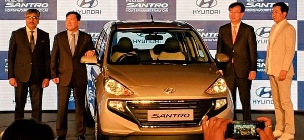Launch Event Of New Hyundai Santro