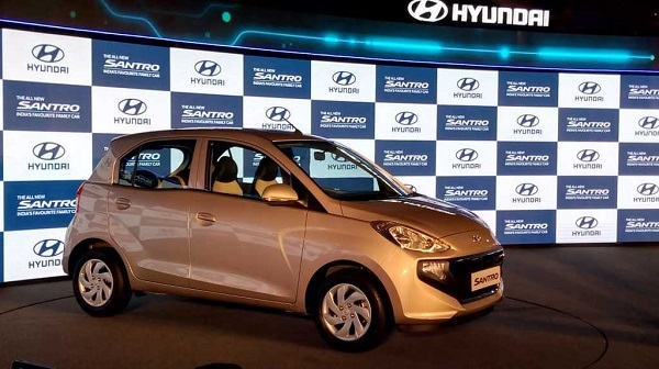 New Hyundai Santro Side View