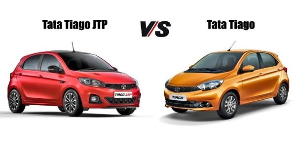 Tata Tiago JTP V/S Tatat Tigor