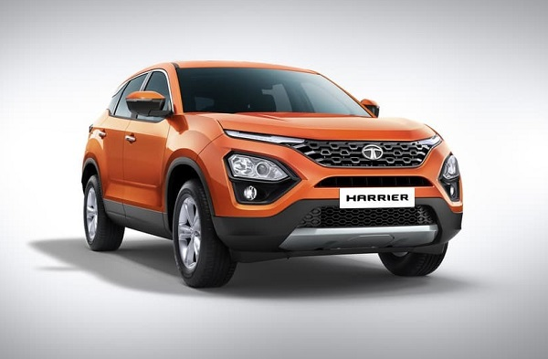Tata Harrier Front Low View