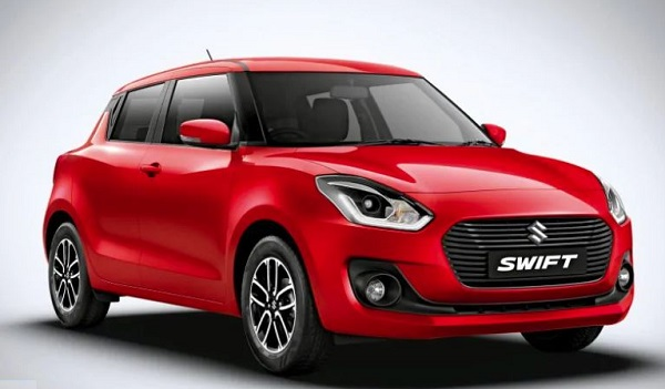 Maruti Suzuki Swift Front Low View