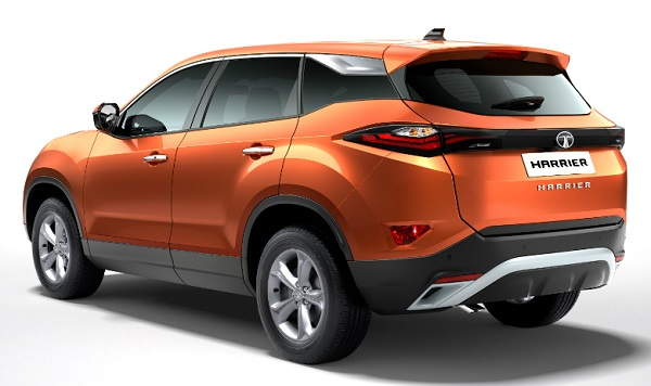Tata Harrier Low End Rear View