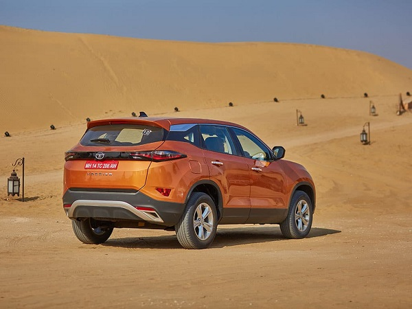 Tata Harrier SUV Rear Side View