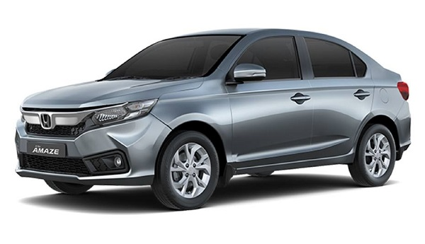 Honda Amaze Front Low View