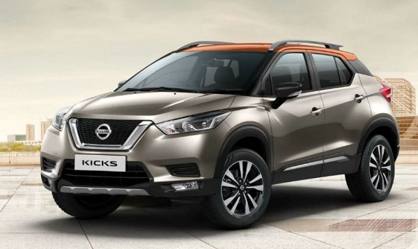 Front Low-View of Nissan Kicks