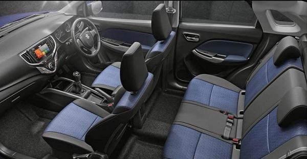 Maruti Suzuki Baleno 2019 Interior
