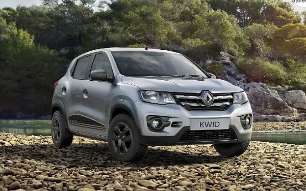 Renault Kwid Front Low View