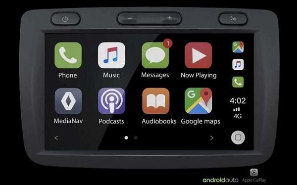 Seven Inch Touchscreen Infotainment System