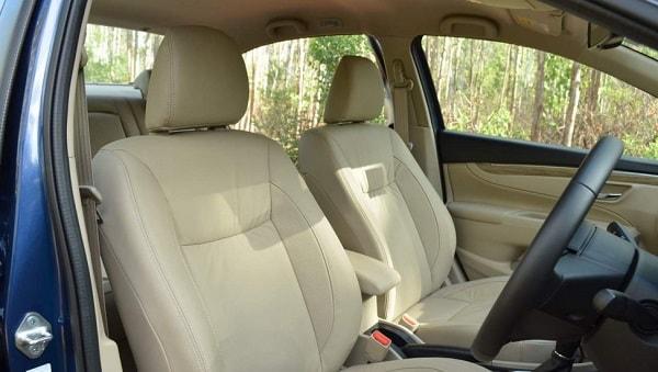 Maruti Suzuki Ciaz Front Row Seats