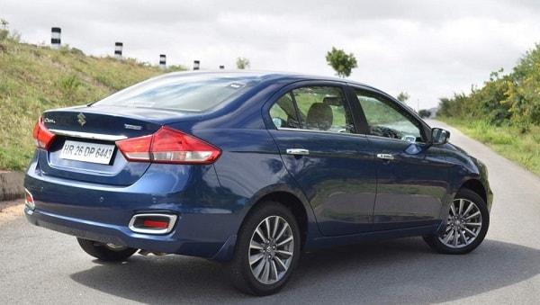 Maruti Suzuki Ciaz Rear Low View