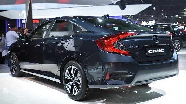 Honda Civic 2019 Rear Portion