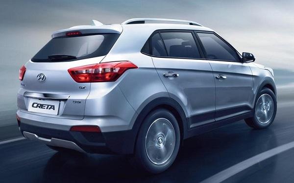 Hyundai Creta Back