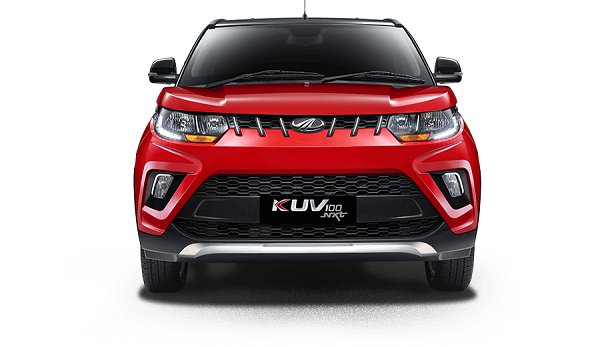 Mahindra KUV100 Electric Front View