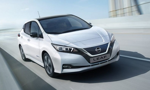Nissan Leaf Front Low View