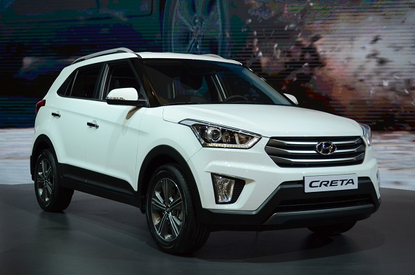 Hyundai Creta Front View