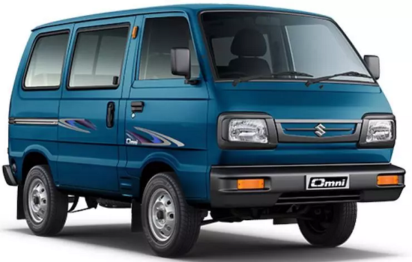 Maruti Suzuki Omni Front Low View