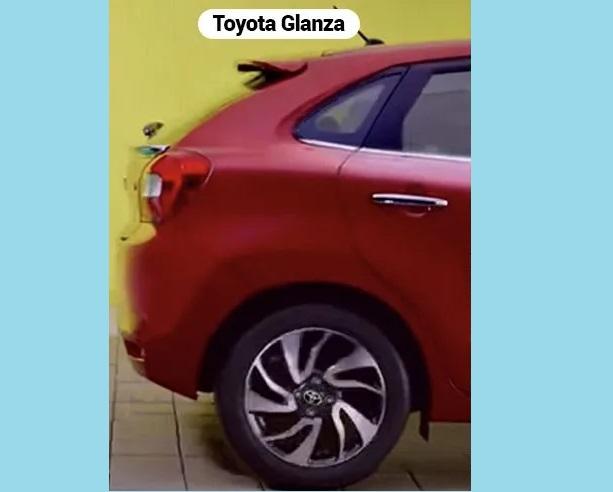 Toyota Glanza Rear Side View