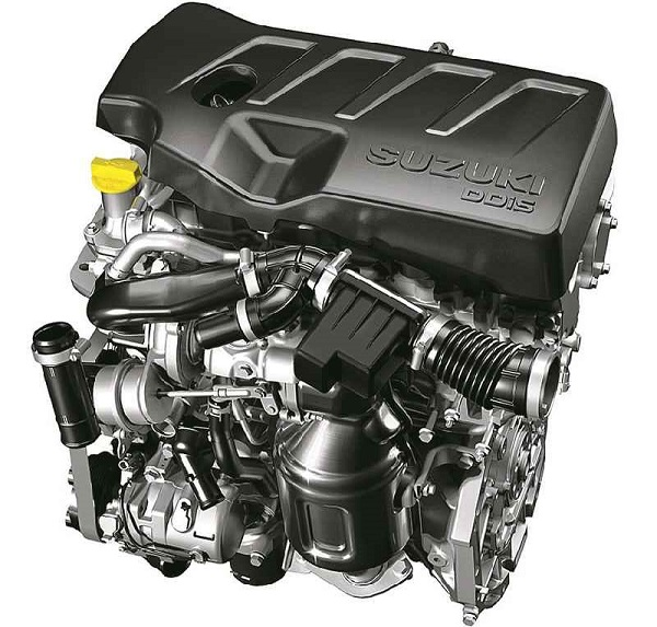 New 1.5 litre DDiS 225 4-cylinder diesel engine