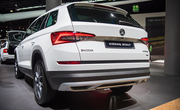 Skoda Kodiaq Scout Rear View