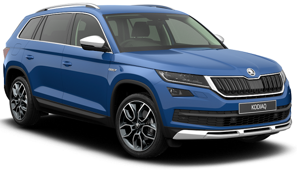 Skoda Kodiaq Scout Front Low View