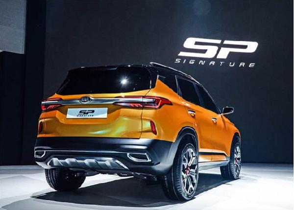 Kia SP SUV Rear View