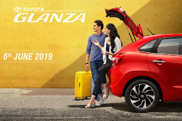 Toyota Glanza Coming on June 6, 2019