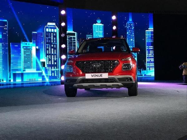 Hyundai Venue Front Fascia