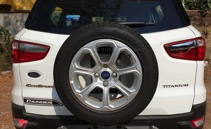 Ford EcoSport Thunder Edition Rear Portion