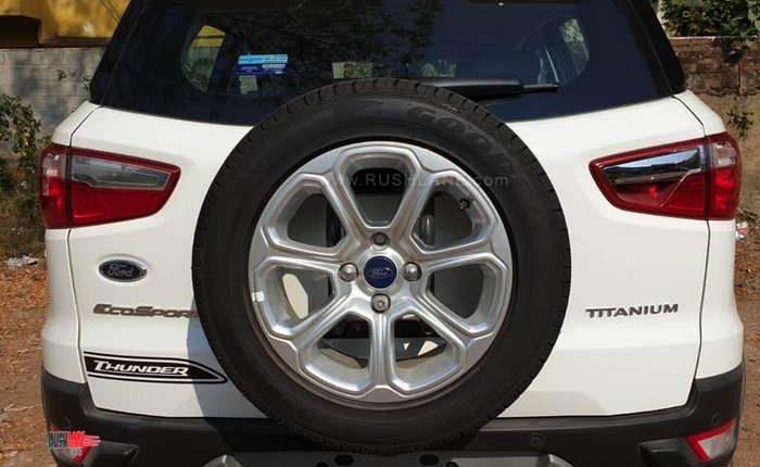 Ford EcoSport Thunder Edition Rear Portion
