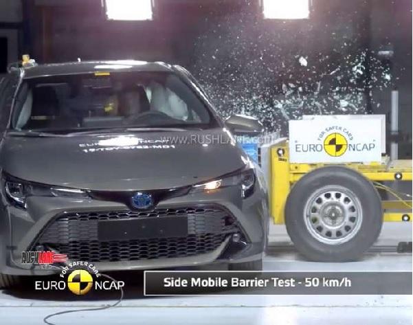 Toyota Corolla EURO NCAP Crash Test