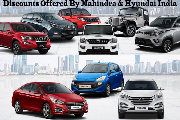 Discounts Offered by Hyundai India and Mahindra & Mahindra