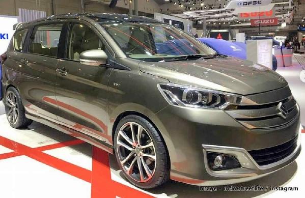 Maruti Suzuki Ertiga XL6 Front Low View