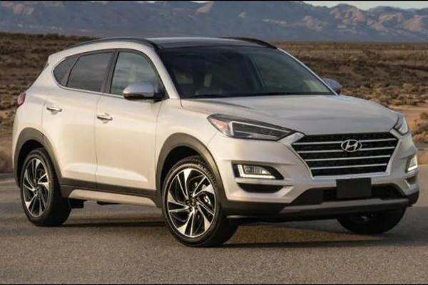 Hyundai Tucson Front Low View