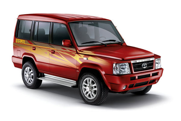 Tata Sumo Front Low View