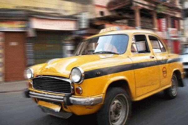 Yellow Taxis in West Bengal