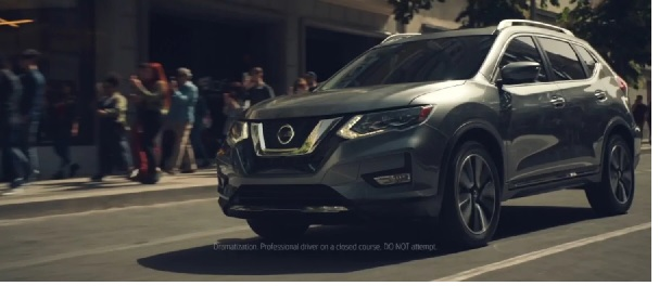 Nissan Rogue Front Low View