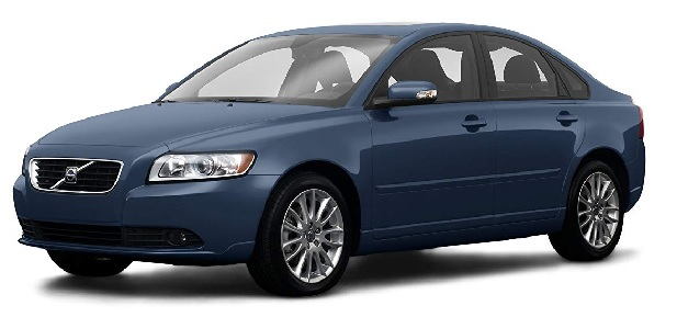 Volvo S40 Front Low View