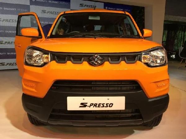 Maruti Suzuki S-Presso Front View