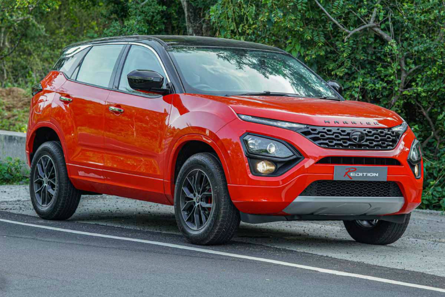 Tata Harrier Redition Front Low View