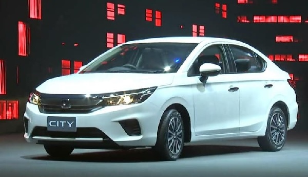 Honda City 2020 Front Low View
