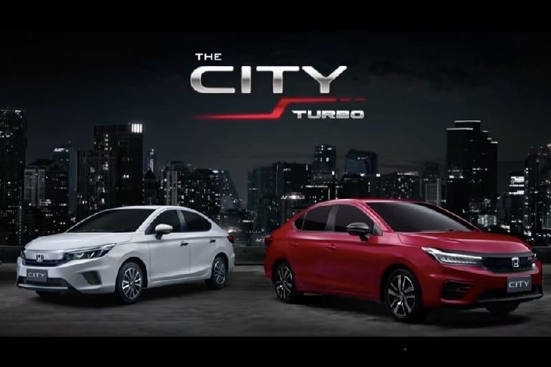 2020 Honda City Unveiled in Thailand