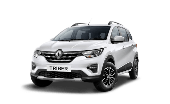 Renault Triber Front Low View