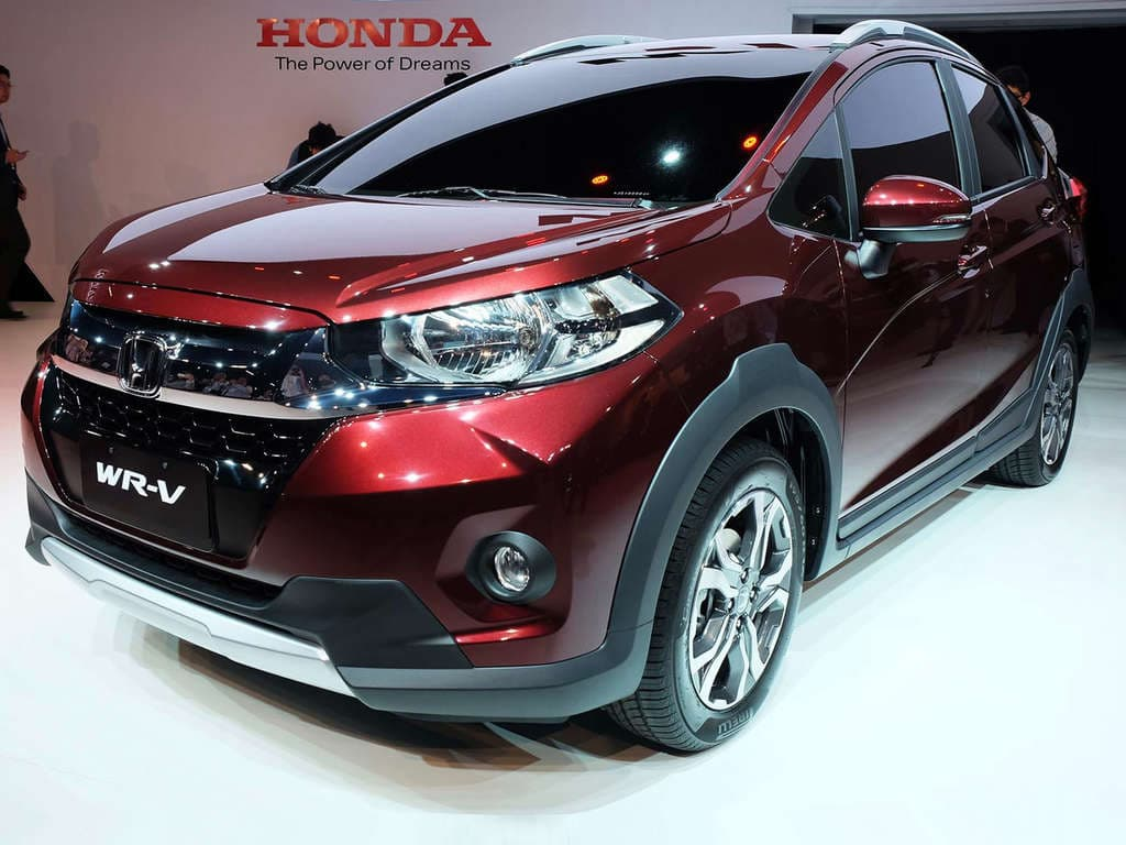 Honda WR-V Front Low View