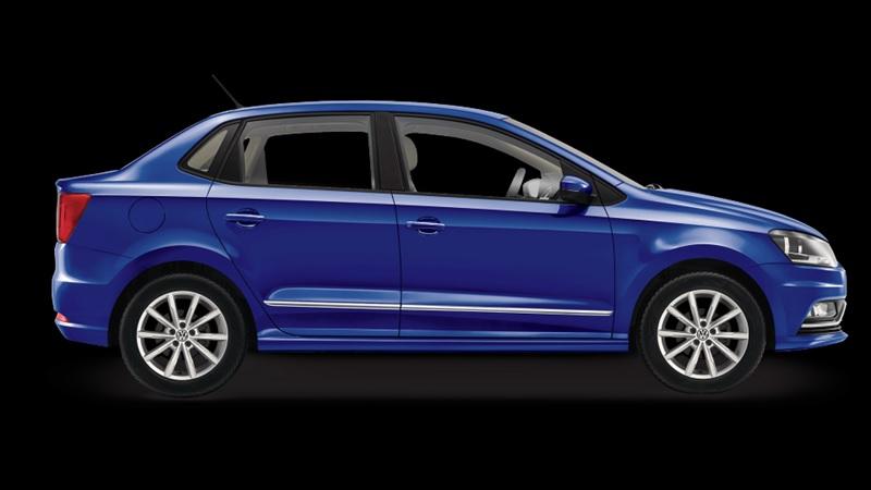 Volkswagen Ameo Side Profile